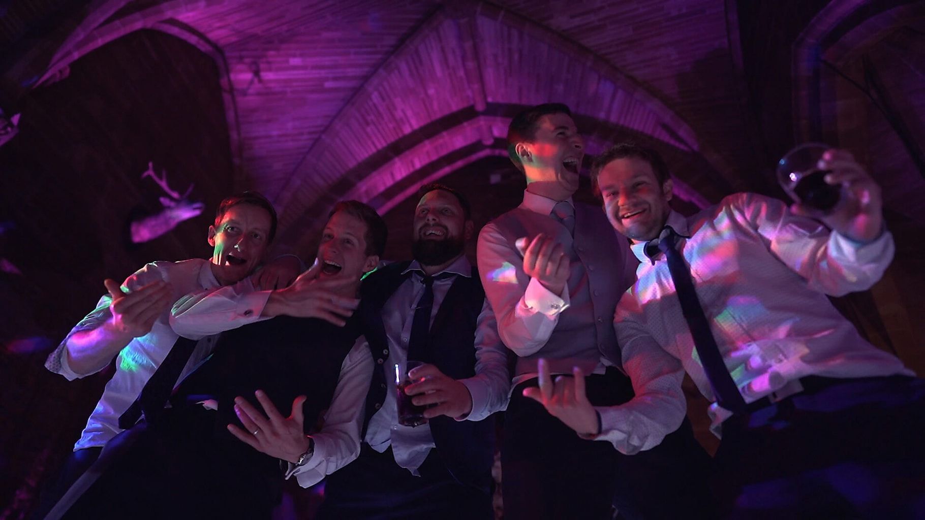 Peckforton Castle wedding videography