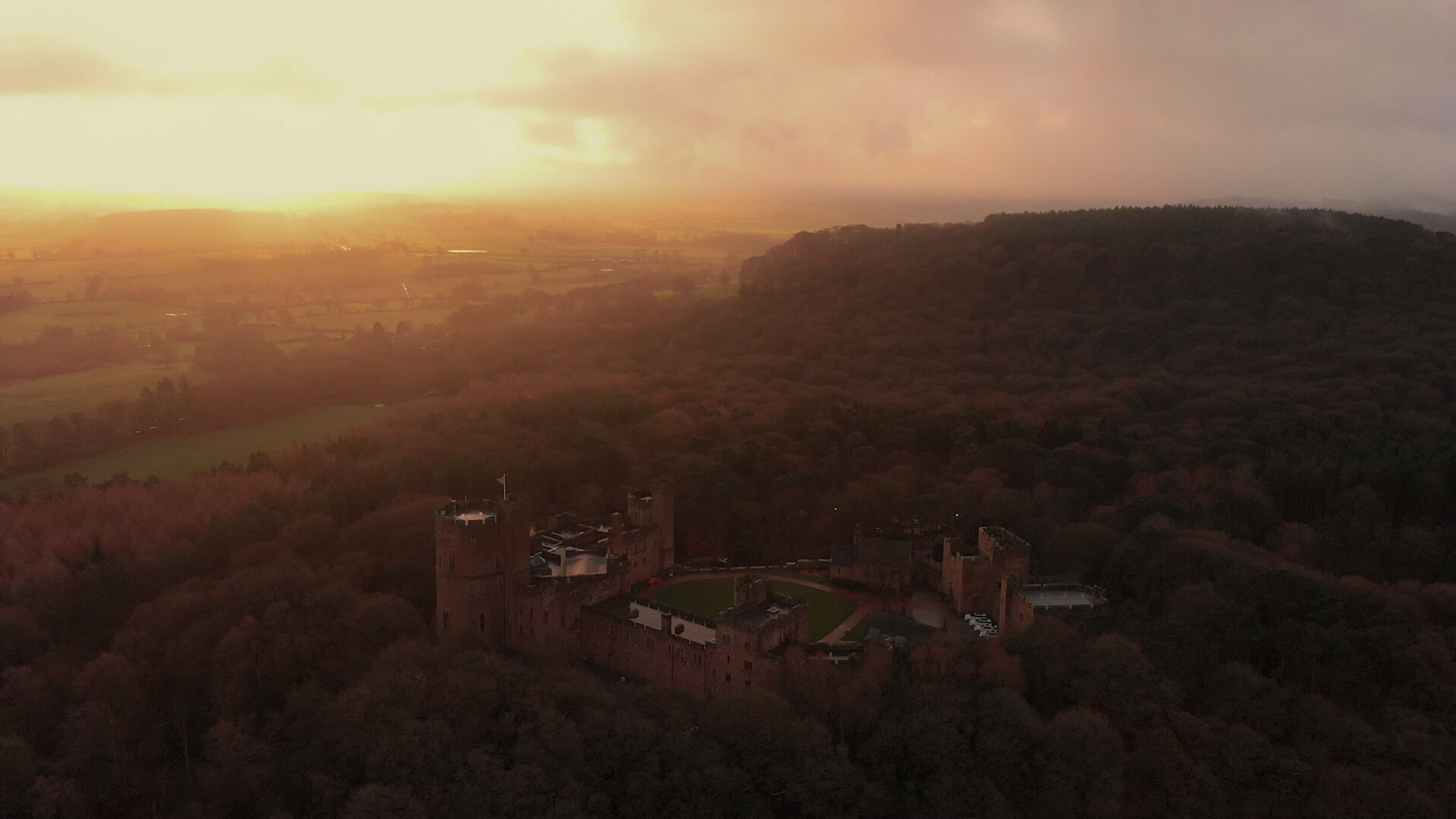 peckforton castle wedding videographer